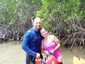 Enjoing the mangroves