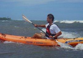 Kayaking Utila