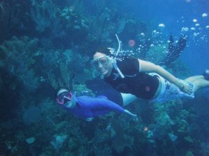 Utila's reefs are great to explore by snorkeling!